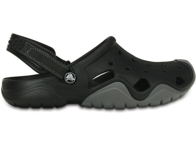 Crocs Swiftwater Clogsit Miehet, black/charcoal